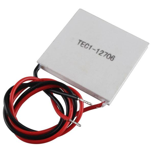 TEC1 – 12706 Thermoelectric Peltier Cooler Heater for DIY
