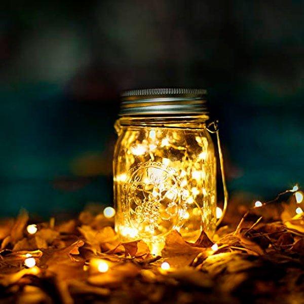 Star Solar Garden Lights Mason Jar Lights Led Water