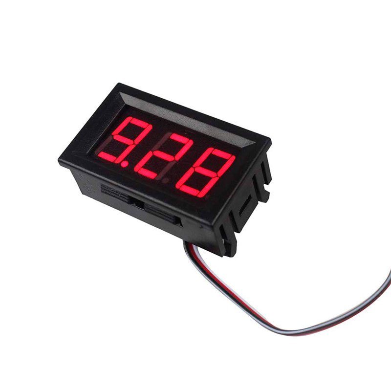 3 Wire Dc 4 5 30v 10a Voltmeter Ammeter Red Led Amp Dual